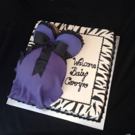 purple-pregnant-belly-baby-shower-cake