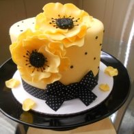 Anenome Flower Cake