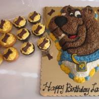 Scooby Doo Cake & Cupcakes