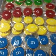 M&M-cookies