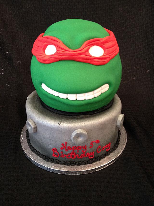 wilton teenage mutant ninja turtle cake instructions