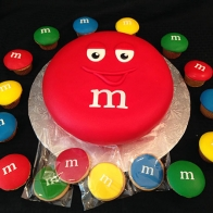 M&M-cake-and-cookies