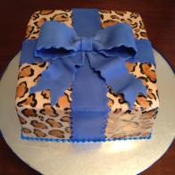 leopard-bowcake