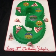 ninja-turtles-number-3-cakes