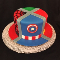 superhero-hat-cake