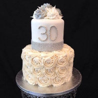 30-year-anniversary-wedding-cake