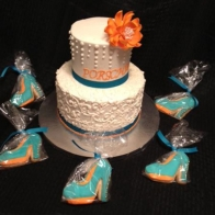 teal-high-heels-cookies
